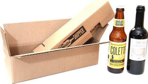 One Bottle 375 Ml Shipper Beer Spiritedshipper