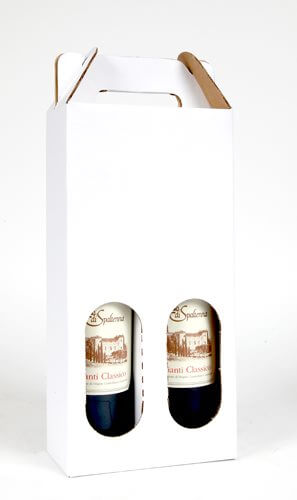 two bottle wine tote-carrier