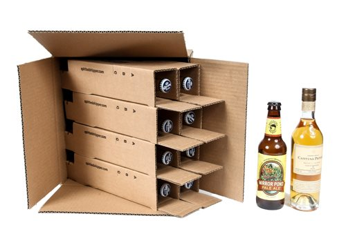 shipping box for eight beers